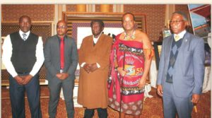His Majesty Receives Birthday Gifts From Municipal Council of Mbabane